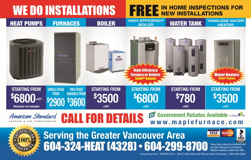 high efficiency boiler in Burnaby